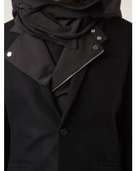 Juun.J Black Long Sleeve Jacket for men