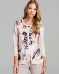Basler Multicolor Floral Cardigan