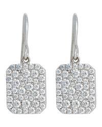 Finn - Metallic Scapular Drop Earrings - Lyst