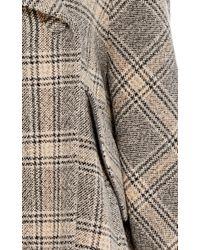 Martin Grant | Gray Swing Coat | Lyst