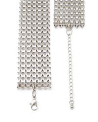 Forever 21 Metallic Snake Chain Collar Necklace
