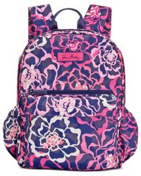 Vera Bradley Pink Lighten Up Just Right Backpack