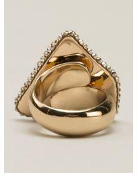 Roni Blanshay Blue Jagged Ring