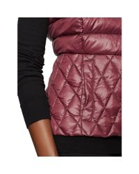 Ralph Lauren - Purple Packable Down Vest - Lyst