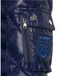 Lauren by Ralph Lauren | Blue Packable Down Walker Coat | Lyst