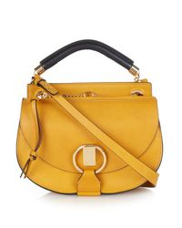 Chloé - Yellow Goldie Small Leather Cross-Body Bag - Lyst