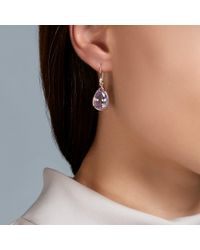 Dinny Hall Pink Imy Rose De France Earrings