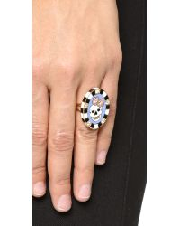 Holly Dyment - Multicolor Friday Enamel Ring - Lyst