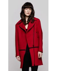 Rag & Bone - Red Rally Coat - Lyst