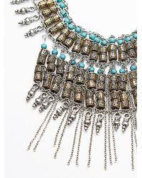 Free People | Blue Womens Bonfire Fringe Collar | Lyst