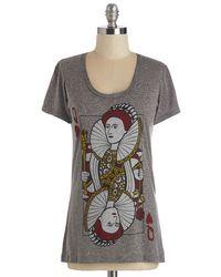 Headline Shirts - Gray A Queen Win Tee - Lyst