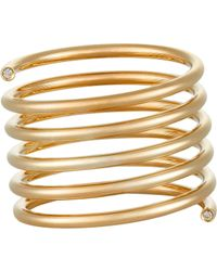 Sophie Bille Brahe | Metallic Pirouette Grand Ressort Ring | Lyst