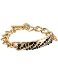 Guess | Metallic Toggle Animal Id Bracelet | Lyst