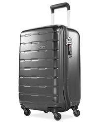 "Samsonite | Gray Spin Trunk 21"" Carry On Hardside Spinner Suitcase for Men | Lyst"