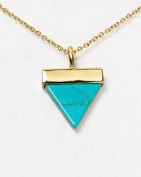"Samantha Wills Blue Aztec Dreaming Necklace, 16"""