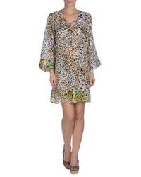 Blumarine | Black Beach Dress | Lyst