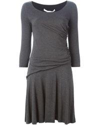 Diane von Furstenberg - Gray 'nerissa' Dress - Lyst