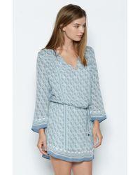 Joie | Blue Chastain Silk Dress | Lyst