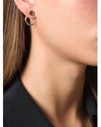 Bjorg Metallic 'a Thousand Wells' Earrings