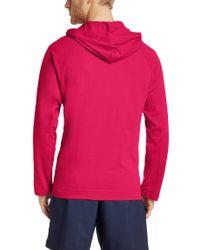 BOSS Pink 'shirt Hooded Ls' | Long Sleeve T-shirt Hoodie for men