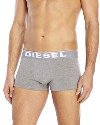 DIESEL - Black 3-Pack The Essential Trunks for Men - Lyst