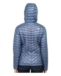 The North Face | Blue Thermoballtm Full Zip Jacket | Lyst
