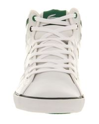 Lacoste Camous White Green for men