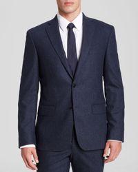 John Varvatos Blue Luxe Marled Sport Coat - Slim Fit - Bloomingdale'S Exclusive for men