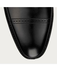 Bally Scardino Men's Leather Double Monkstrap Shoe In Black for men