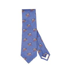 Polo Ralph Lauren | Blue Tie for Men | Lyst