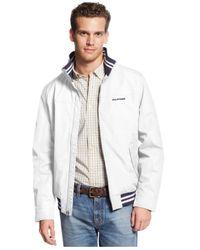 Tommy Hilfiger White Regatta Jacket for men