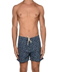 Saturdays NYC - Blue Beach Trousers for Men - Lyst