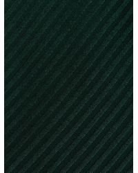 Etro - Green Striped Jacquard Tie for Men - Lyst
