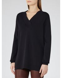Reiss - Blue Zagato V-neck Jumper - Lyst