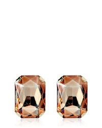 DSquared² | Pink Crystal Earrings | Lyst