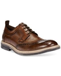 Kenneth Cole Reaction Brown Kenneth Cole Got To Give Oxfords for men