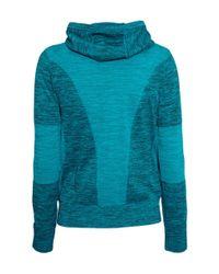 H&M Blue Seamless Sports Jacket