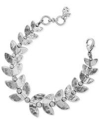 Lucky Brand | Metallic Silver-tone Fish Bone Bracelet | Lyst
