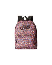 Vans - Purple Realm Backpack - Lyst