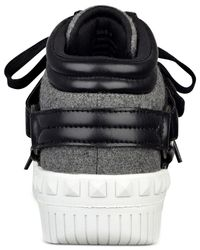 G by Guess | Gray Saga High-top Sneakers | Lyst