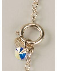 Servane Gaxotte Metallic Rabbit Doll Necklace