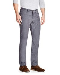 Vineyard Vines Gray Relaxed Fit Corduroy Pants for men
