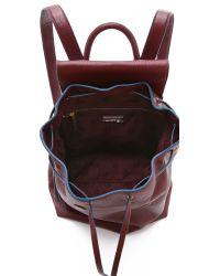 Tory Burch Brody Backpack Deep Berry In Purple Lyst