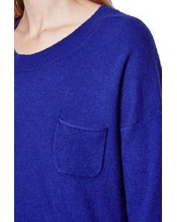 French Connection Blue Clacton Vhari Jumper