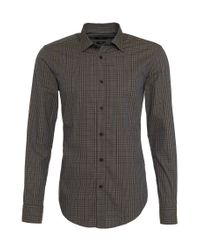 BOSS Brown 'ronni' | Slim Fit, Cotton Button Down Shirt for men