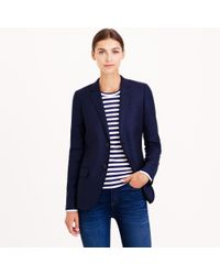 J.Crew - Blue Collection Women'S Ludlow Jacket In Italian Cashmere - Lyst