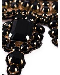 Valentino | Black Embellished Necklace | Lyst