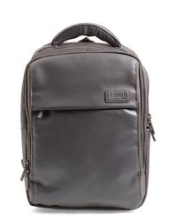 Lipault | Black Computer Backpack for Men | Lyst
