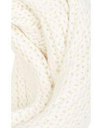 Karen Millen - Natural Knitted Snood - Lyst