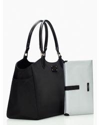 Kate Spade | Black Grove Court Nylon Sasha Baby Bag | Lyst